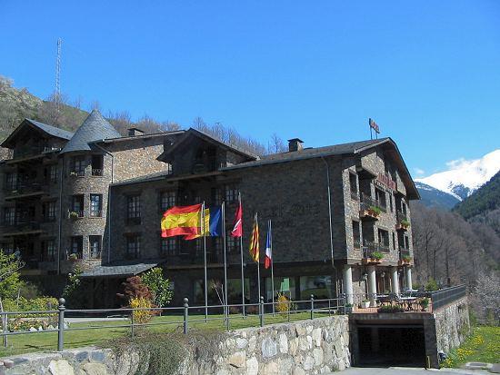 hotel xalet la massana: